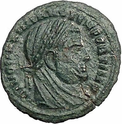 DIVUS Maximian AE4 Deification under CONSTANTINE I the Great Roman Coin i55905