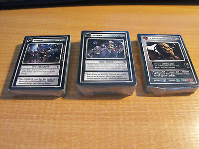 STAR TREK CCG THE BORG COMPLETE MASTER SET (no UR)
