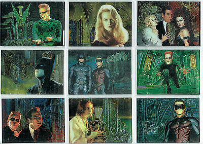 Batman Fleer Ultra 95 Single Animaction Cards