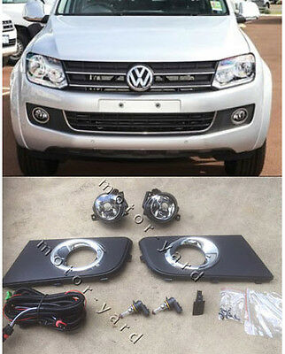 Volkswagen VW Amarok 2010 to 2017 Driving / Spot / Fog Lights Lamps Kit