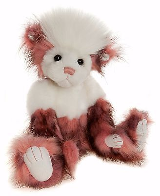 New **COLLECTABLE HANDMADE FULLY JOINTED CHARLIE BEAR ~ COCONUT ICE** 36cm