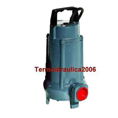 Eau Chargee VORTEX50M.SG Pompe Submersible COMEX 230V 0,37kW 0,5Hp solides25mm