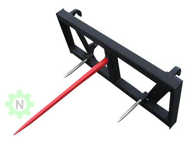 "Euro Global Bale Spear Attachment - W/39"" Spear"