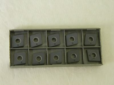 Iscar Cnga 120408t Cnga 432t Is8 5700009 Ceramic Turning Insert Lot of 10