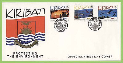 Kiribati 1994 Protecting the Environment set on First Day Cover