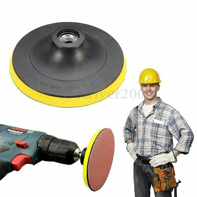 New 125mm Backing Pad Hook & Loop Pad 5'' Without Drill Attachment Sanding Disc