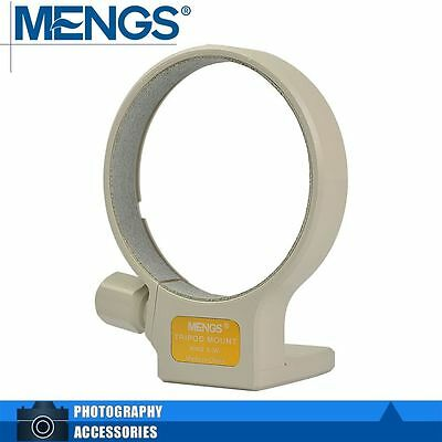 MENGS Tripod Mount Collar Ring B (W) For Canon