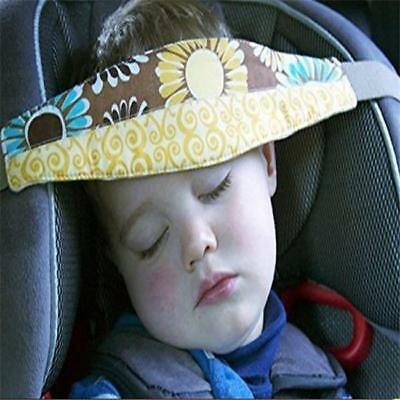 Car Seat Sleep Aid Safety Head Support Belt Band Holder For Travel Kid Protector