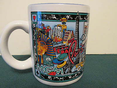 Las Vegas Casino Coffee Cup Mgm Grand Paris Bellagio Excalibur Treasure Island++