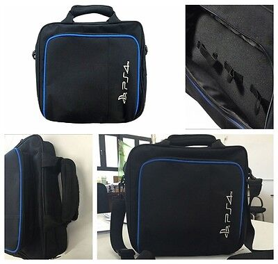 Carrying Bag For Sony PlayStation4 PS4 Black Multi-functional Travel Carry Case