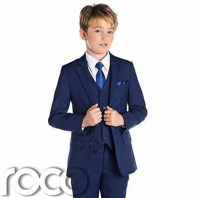 Boys Blue Suit, Slim Fit Suits, Boys Wedding Suit, Blue Suits, Boys Formal Suit
