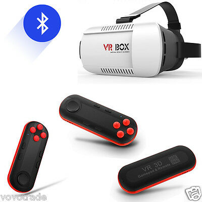 Bluetooth Remote Control For VR BOX Virtual Reality 3D Glasses For Smartphone
