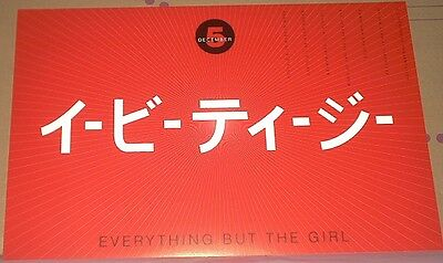 Everything But The Girl RARE LIVE 1998 CONCERT GIG POSTER Glossy MINT EBTG