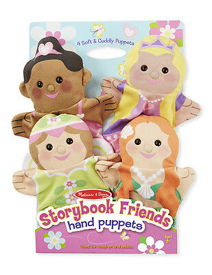 STORYBOOK FRIENDS HAND PUPPETS #9083 ~ Free Ship/USA ~  Melissa & and Doug
