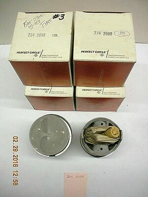 Fiat 128 1116cc pistons & rings 80mm std.