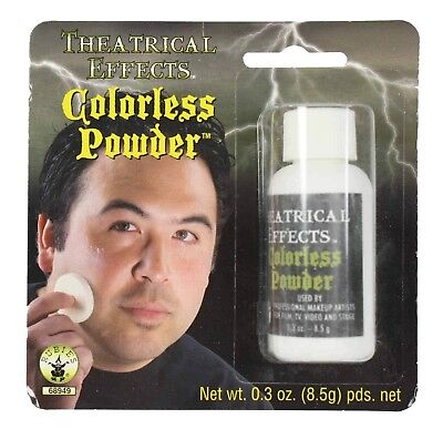 Professional Costume Make Up Theatrical Effects Colorless Powder
