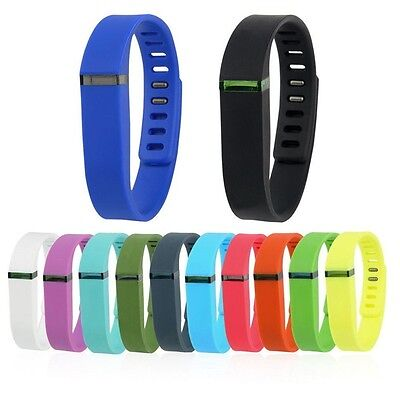 Multi-color Replacement Wrist Band With Clasp For Fitbit Flex Wristband Small US