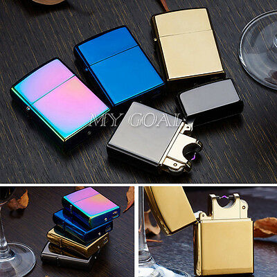 Colorful USB Electric Arc Cigarette Cigar Lighter Rechargeable Flameless Metal
