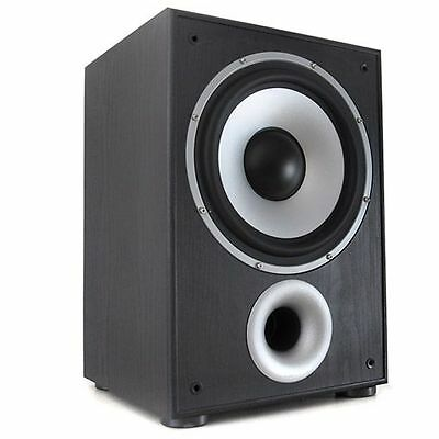 Subwoofer Activo Autoamplificado 100W Vatios Home Cinema Bass Reflex 10""