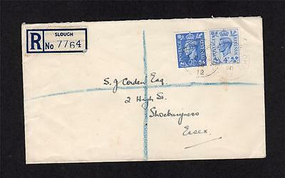 GEORGE VI 4d BLUE FIRST DAY COVER