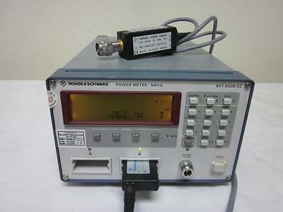Rohde & Schwarz NRVD Dual Channel Power Meter with NRV-Z51 18 GHz Sensor