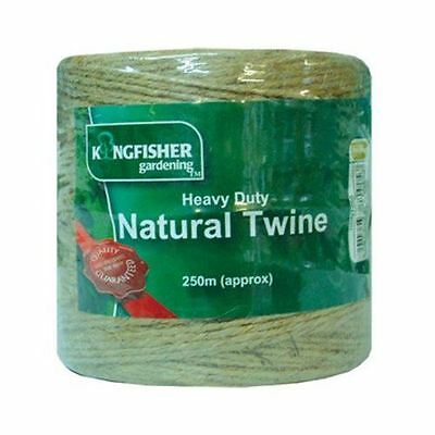 Multipurpose Heavy duty Natural Twine 250m for Home & Garden DIY
