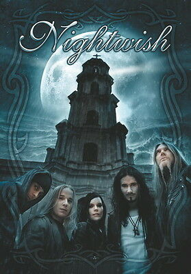"""Nightwish Flagge / Fahne """"bandpicture"""" Posterflag"""