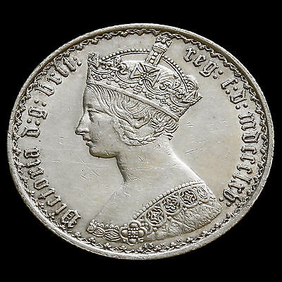 1865 Queen Victoria Gothic Florin – Extremely Rare (R3)