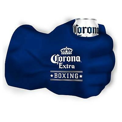 Corona Boxing Giant Fist Can Cooler Blue