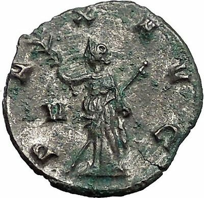 Gallienus son of Valerian I Ancient Roman Coin Pax Eirene Peace Cult  i55784
