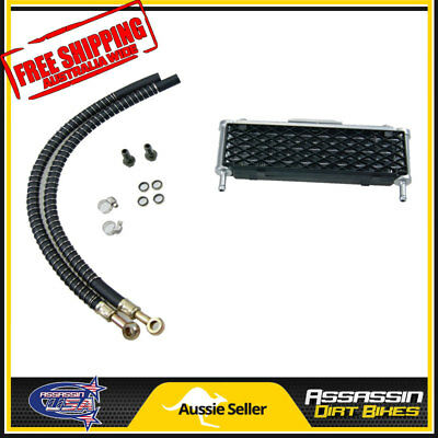 HF Oil cooler kit Dirt Bike 125cc 140cc 150cc 160cc ATV Buggy Z50 Radiator QUAD