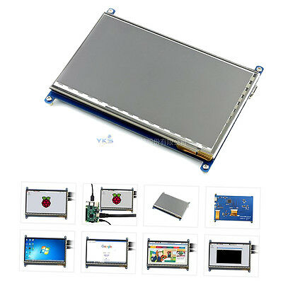 7 Inch HDMI LCD Screen Module for Display Ultra Clear For Raspberry Pie XH