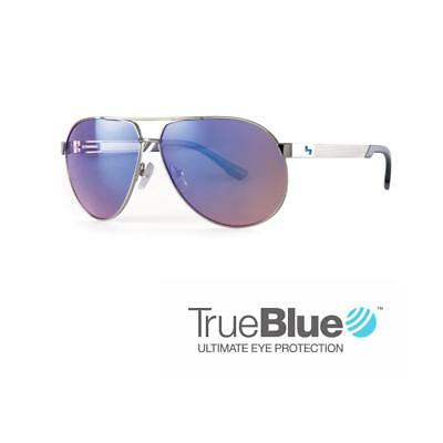 Sundog Golf Uptown TrueBlue Sunglasses (Silver / Brown)