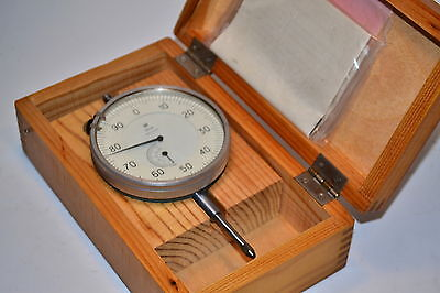 NOS RUSSIAN Made Extra Large Face DIAL INDCATOR Range 0-25mm Graduations .01mm