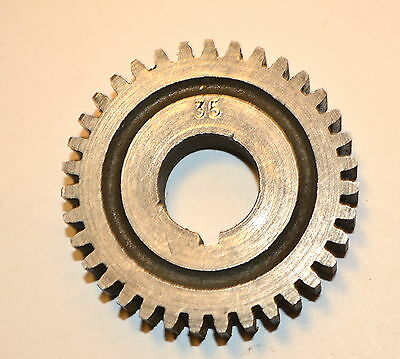 "Excellent MYFORD UK CHANGE GEAR WHEEL 35 TOOTH 5/8"" keyed bore ML7 Super 7 LATHE"