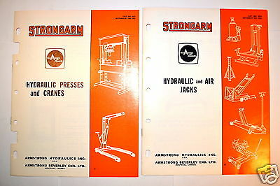 Strongarm Hydraulic Presses & Cranes And Strongarm Hydraulic & Air Tools #rr352