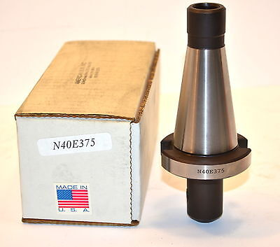"NOS AMERICAN SUN USA Made N40E375   NMTB 40 3/8"" END MILL HOLDER #WL30.2"