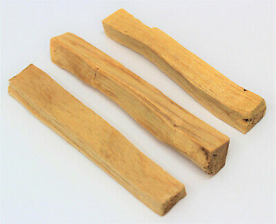 3 Stick Lot of Palo Santo Wood (Incense Smudge Stick Cleansing Holy Wood)