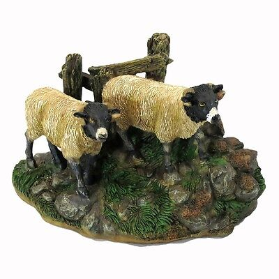 BLACK SHEEP RESIN Decorative Craft Figure DIY Medium Size Ready To