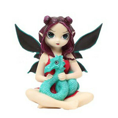 PET STORM DRAGON FAIRY Figurine Faery Figure Jasmine Becket-Griffith Strangeling