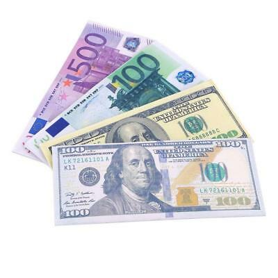 € 500/100 EUR Currency Novelty Wallet - Money Note Holder Purse Coin Travel Gift
