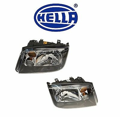 *HELLA VW Volkswagen Jetta GLI headlights smoked FOG lights Mk4 1999-2005 tinted