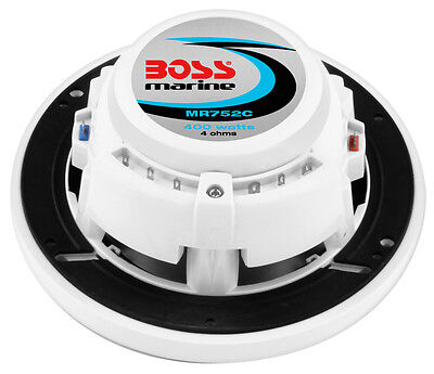 "Coppia casse marine Boss Audio MR752C da 7.5"" 2-uscite 400Watts art.MR752C"