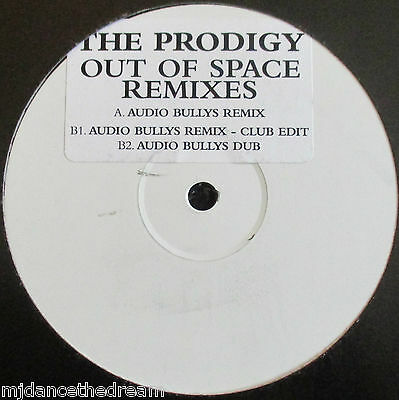 """PRODIGY ~ Out Of Space REMIXES ~ 12"""" Single PROMO"""