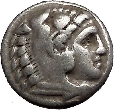 ALEXANDER III the GREAT 325BC LIFETIME ISSUE Ancient Silver Greek Coin i56034