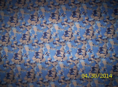 """blanket scarf Cotton Flannel Fabric Blue Gray 1//2/"""" Checkers by the Yard 1//17"""