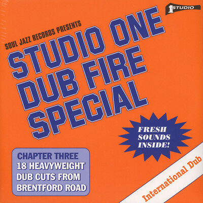 Soul Jazz Records presents - Studio One - Dub Fire Special Vinyl UK 2LP