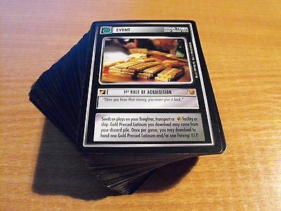 Star Trek Ccg Rules Of Acquisition Common And Uncommon Set