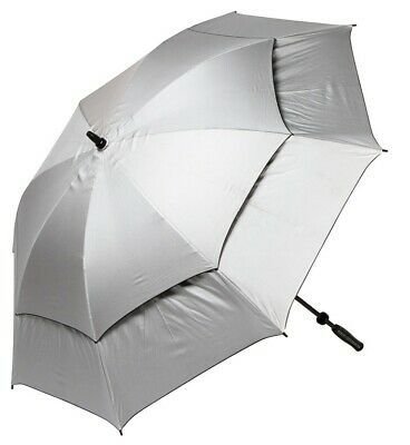 Solar Uv Double Canopy Umbrella - Standard & Long Handle Available
