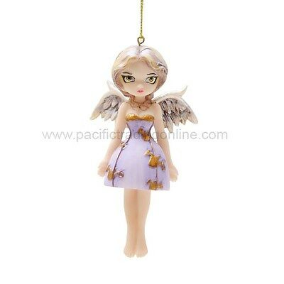 ANGEL IN LILAC FAERY Fairy Ornament Jasmine Becket-Griffith Strangeling faerie